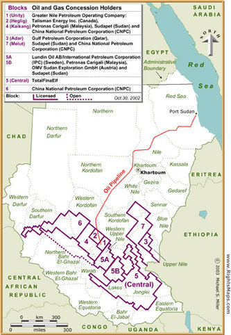 Sudan Oil Fields